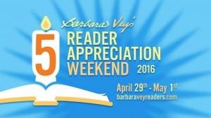 Barbara Vey's Reader Appreciation Weekend