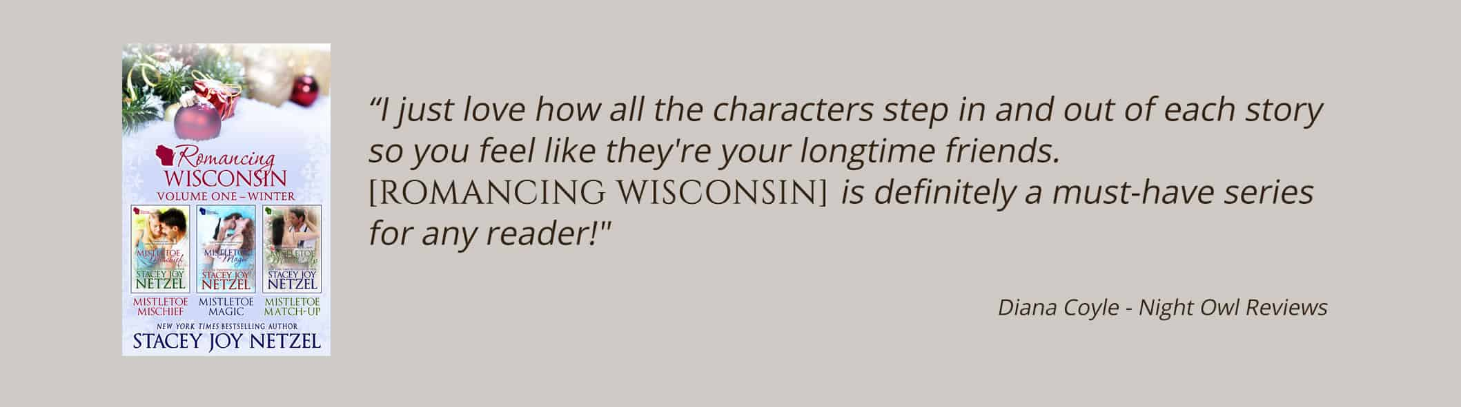 Romancing Wisconsin by Stacey Joy Netzel