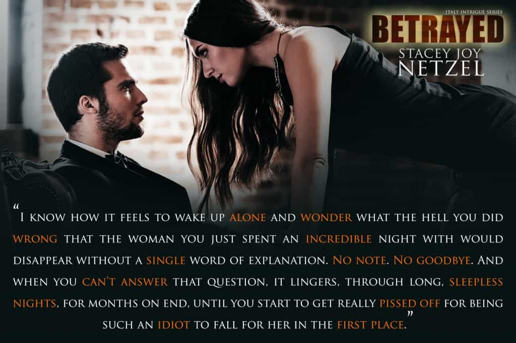 Betrayed, Italy Intrigue Series - 2