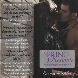 Spring Dreams, Romancing WI - 9, Stacey Joy Netzel